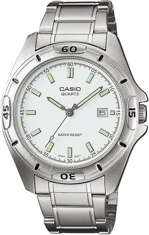 [カシオ] 腕時計 スタンダード MTP-1244D-7AJF シルバー